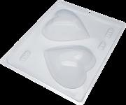 Forma de silicone Coração 200grs (20) BWB