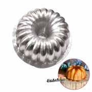 Forma torta suíça decorada  Alumínio N.7 13X6cm CAPARROZ