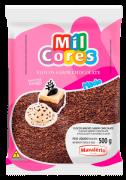 Granulado Flocos Chocolate 500g Mil Cores