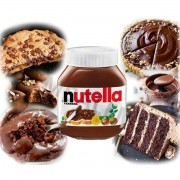Kit C/100 Potinho Nutella pequeno 140g Creme De Avelã
