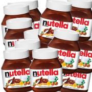 Kit C/10 - Nutella 140g Potinho Pequena Creme De Avelã