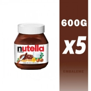 Kit Nutella 650g c/5 Ferrero