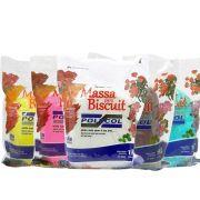 Massa para Biscuit 1kg Polycol escolha uma cor!