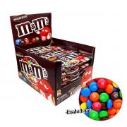 M&M Chocolate Confeite Ao Leite 18 Unidades de 45G Cada
