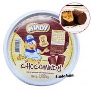 Paçoca com Chocolate ChocoMindy  1.05KG Com 56 Unidades MINDY