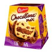 Panetone de Chocolate Chocotonne Sabor Trufa 500G Bauducco