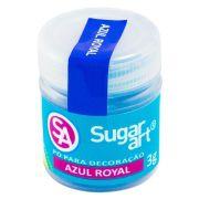 Pó para Decoração Azul Royal 3g Sugar Art
