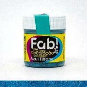 Pó Para Decoração Azul Tiffany Fab 3g Decoração Bolo