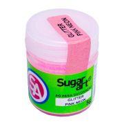 Pó para Decoração Glitter Pink Neon 5g Sugar Art