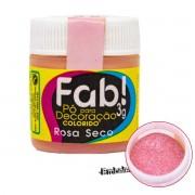 Pó para Decoração Rosa Seco 3G FAB