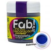 Pó para Decoração Ultravioleta 3g FAB