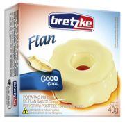 Pó para Preparo de Flan de Coco 40g Bretzke
