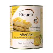 Polpa de Abacaxi  1.02Kg Ricaeli