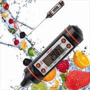 Termômetro Culinário Digital Para Alimento Clink
