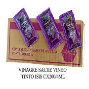 Vinagre de vinho tinto Isis C/200 de 4ml