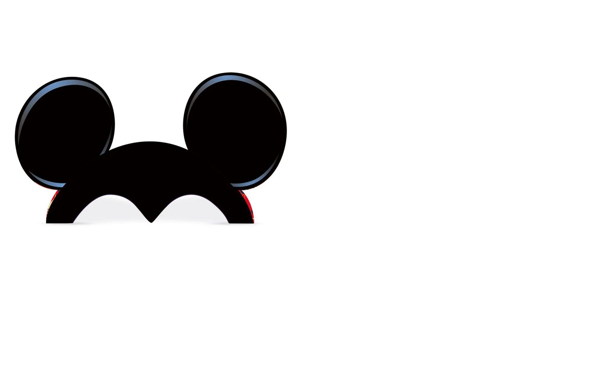 Acessório Papel Orelhas Mickey C/8 REGINA