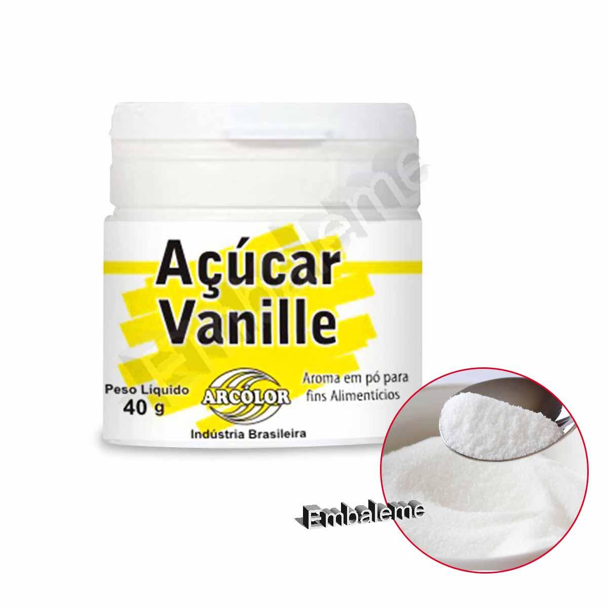 Açúcar Vanille 40g Arcolor