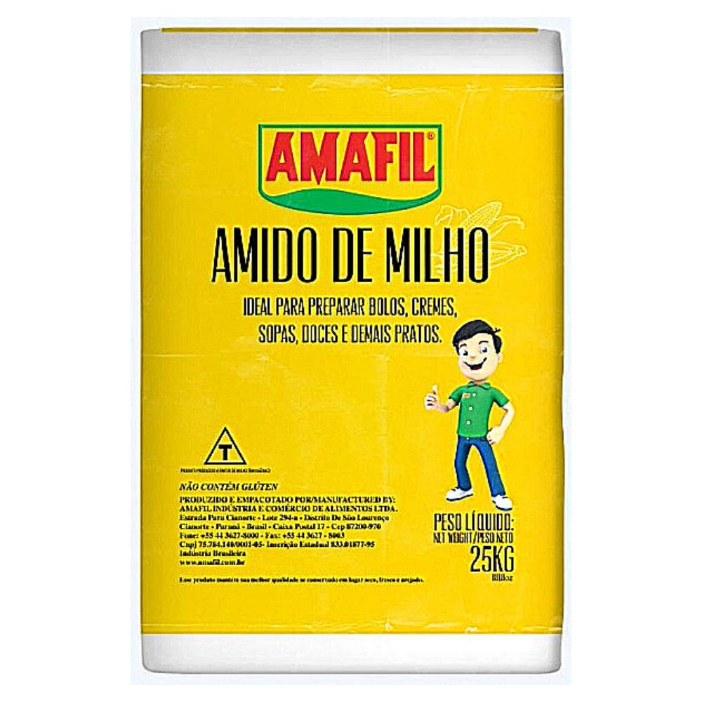 Amido de Milho 25kg Amafil