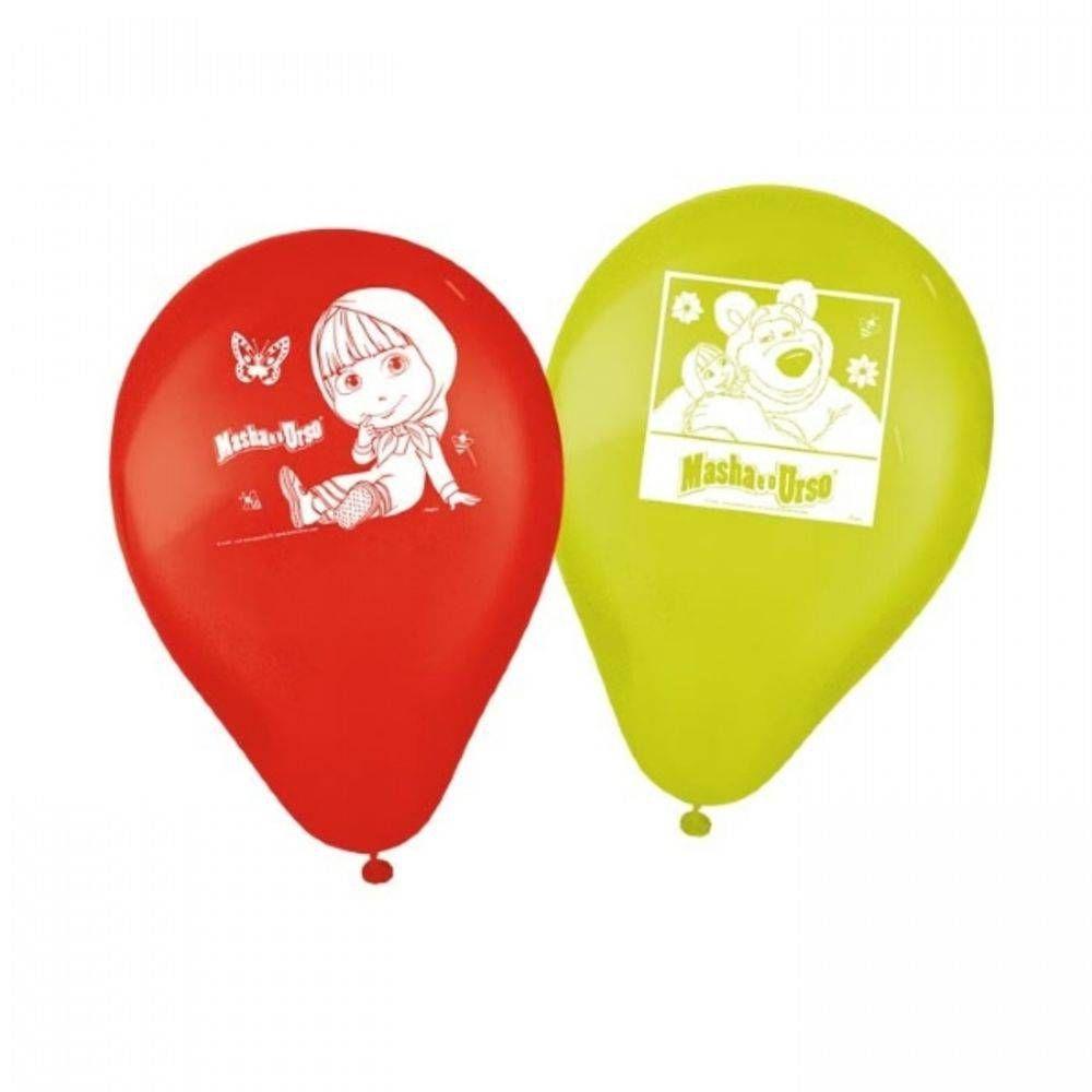 Balão Tamanho 9 Masha e o Urso Regina C/25 Unidades