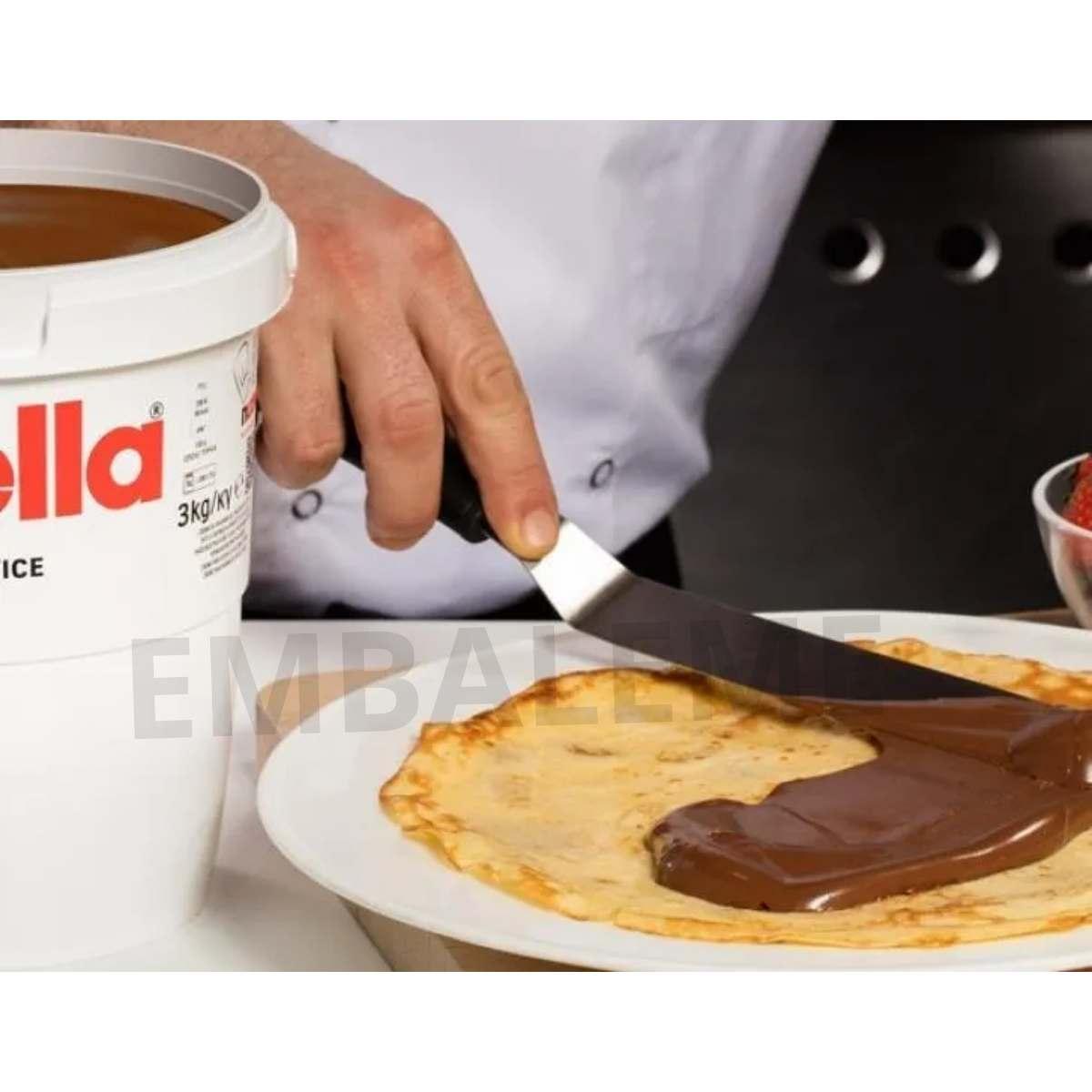 Balde de Nutella 3kg + Pasta Cremosa De KitKat 2,1kg