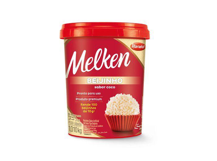 Beijinho sabor Coco Melken 1,010kg Harald