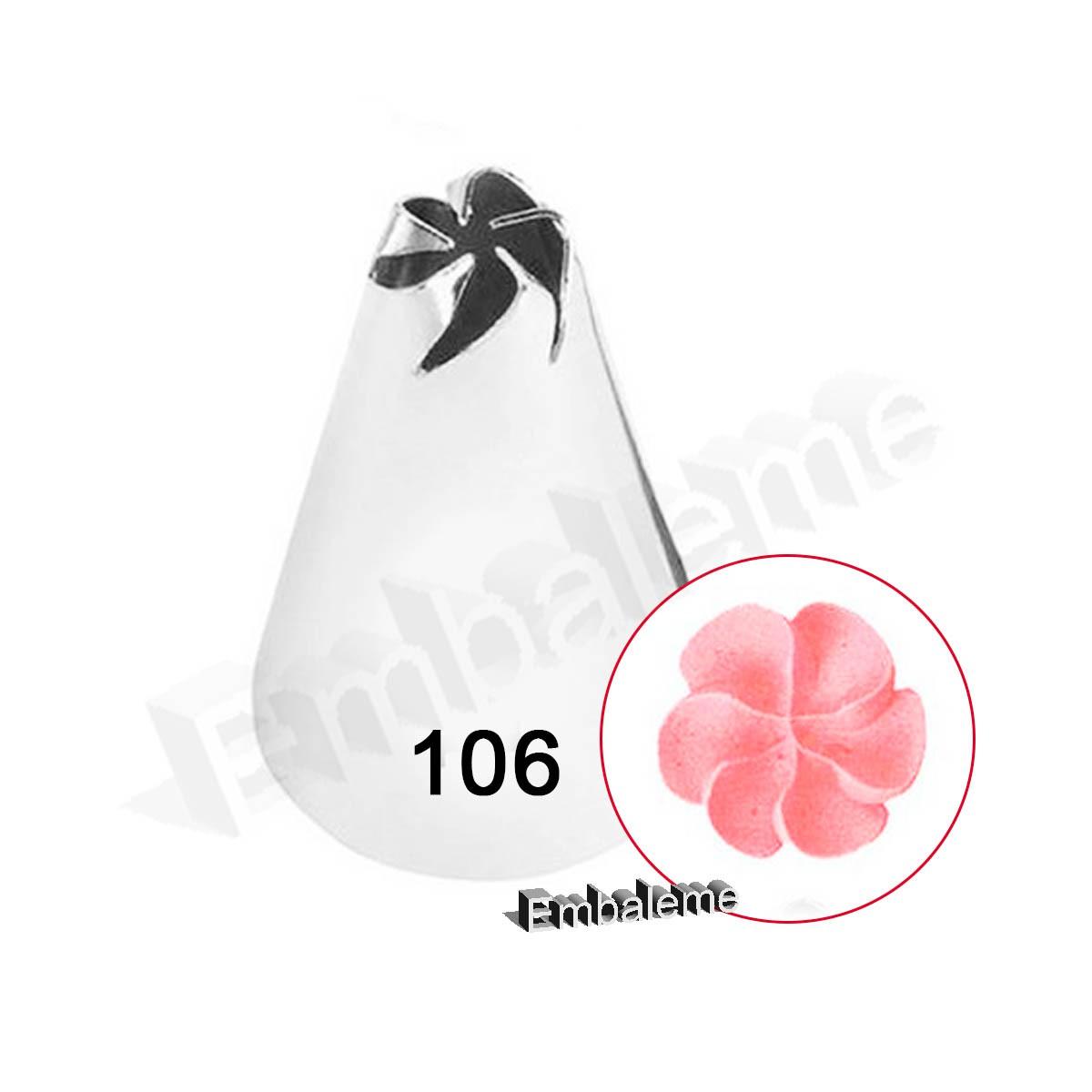 Bico de Confeitar Flor (106) Wilton