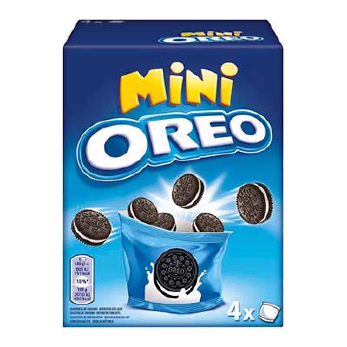 Biscoito Mini Oreo caixa c/10 de 35g
