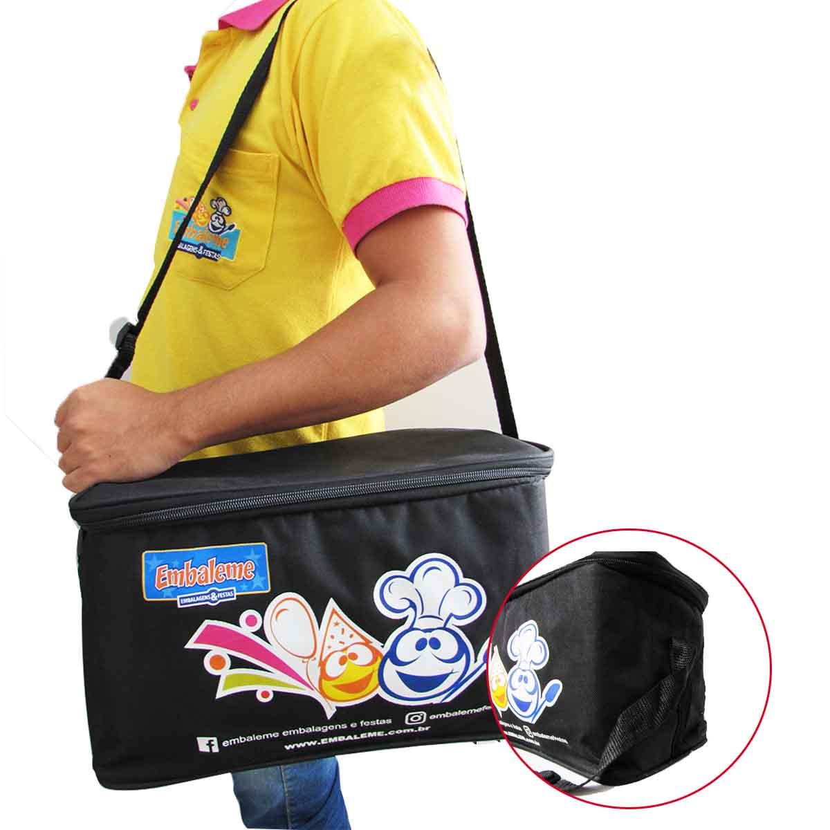 Bolsa Térmica Embaleme (cores variadas) 1 unidade
