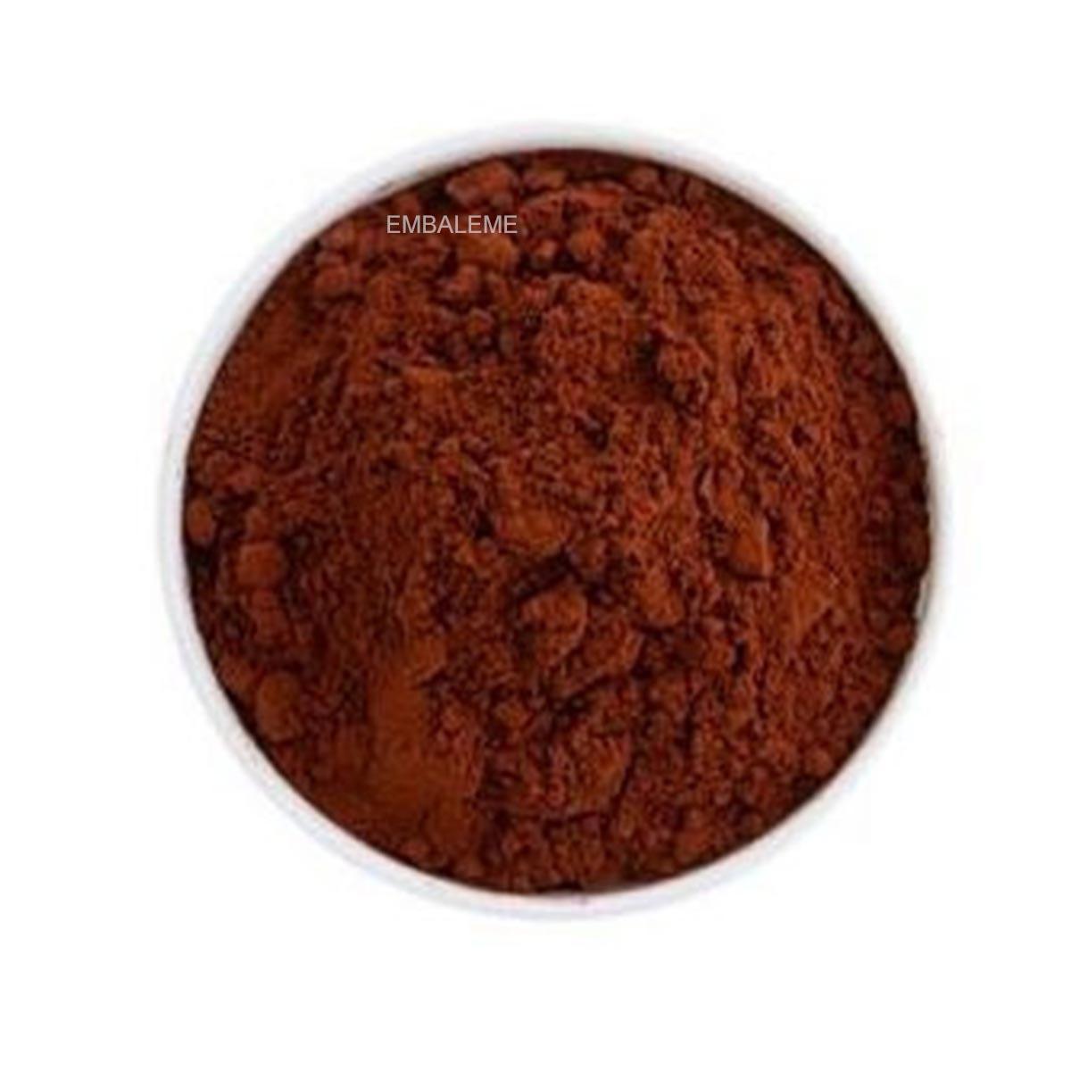 Cacau em Pó Extra Brute 100% 1Kg Cacao Barry Callebaut