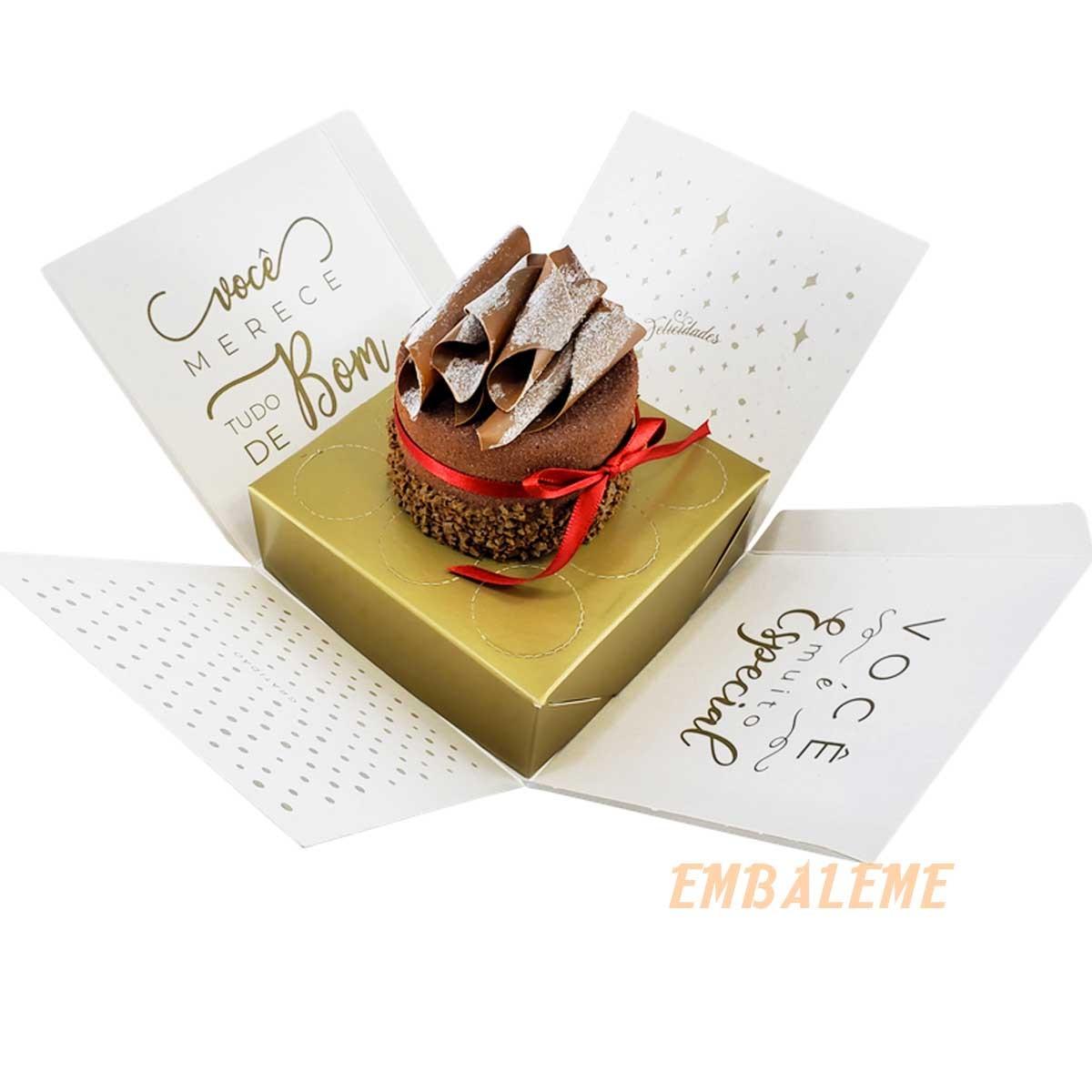 Caixa de Presente Explosão Felicidade Com 10 Unidades