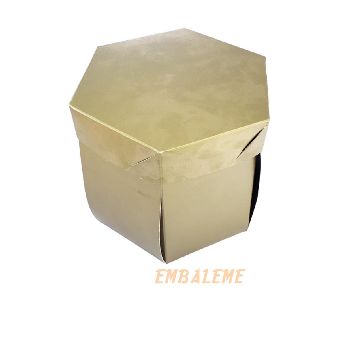Caixa de Presente Explosão Hexa Com 10 Unidades