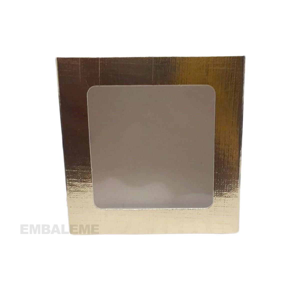 Caixa Gaveta Com Visor Gold Com 10 Unidades