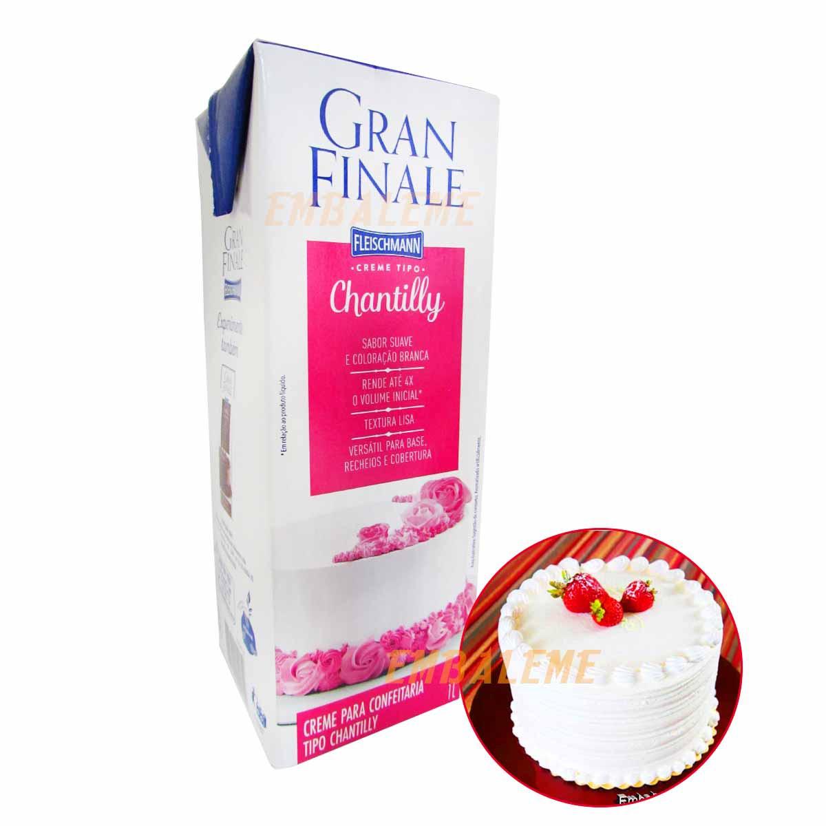 Chantilly Fleischmann Gran Finale 1litro