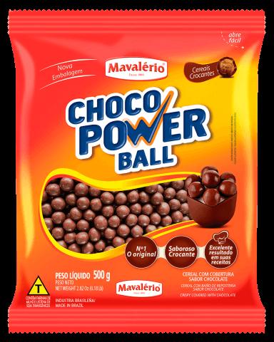Choco Power Ball Chocolate 500g Mavalério