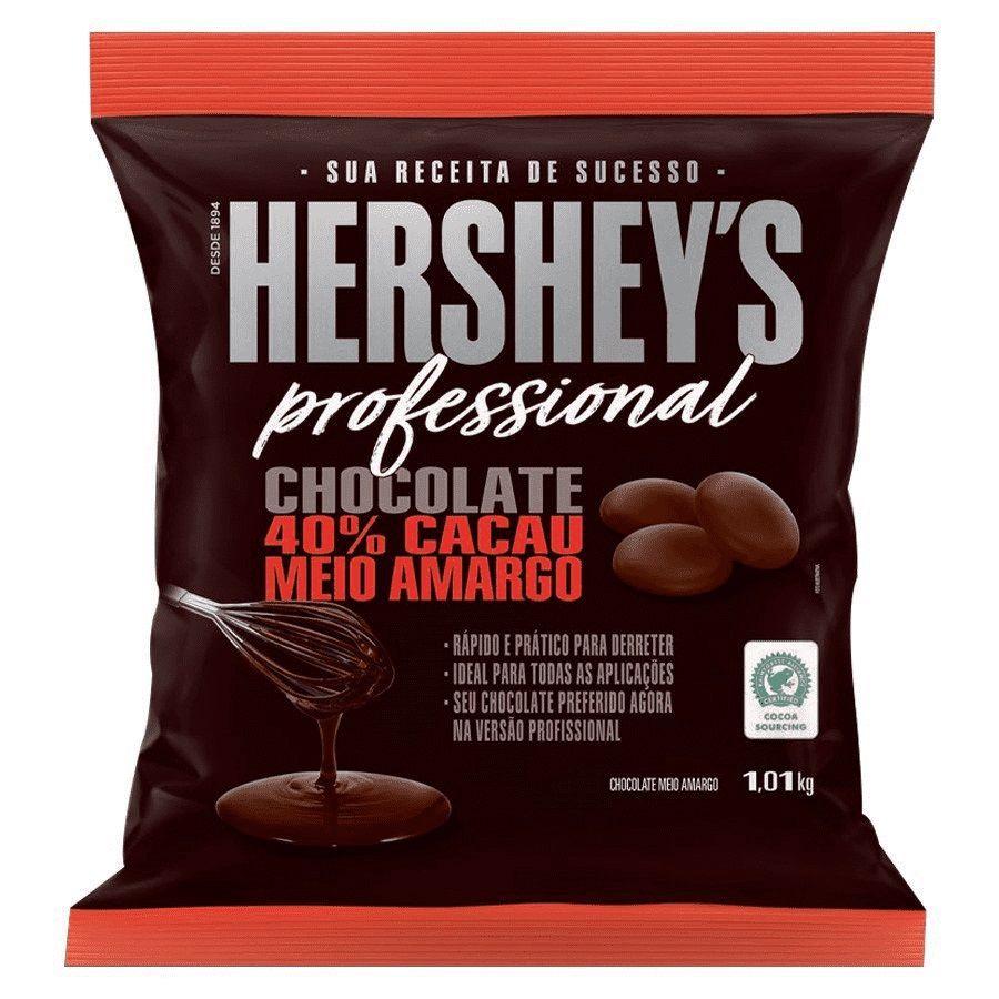 Chocolate 40% Cacau Meio Amargo 1,01kg Hershey's Professional