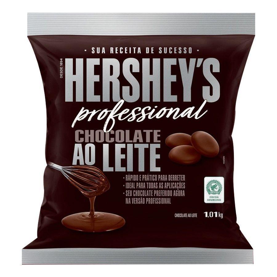 Chocolate Ao Leite 1,01kg moeda Hershey's Professional