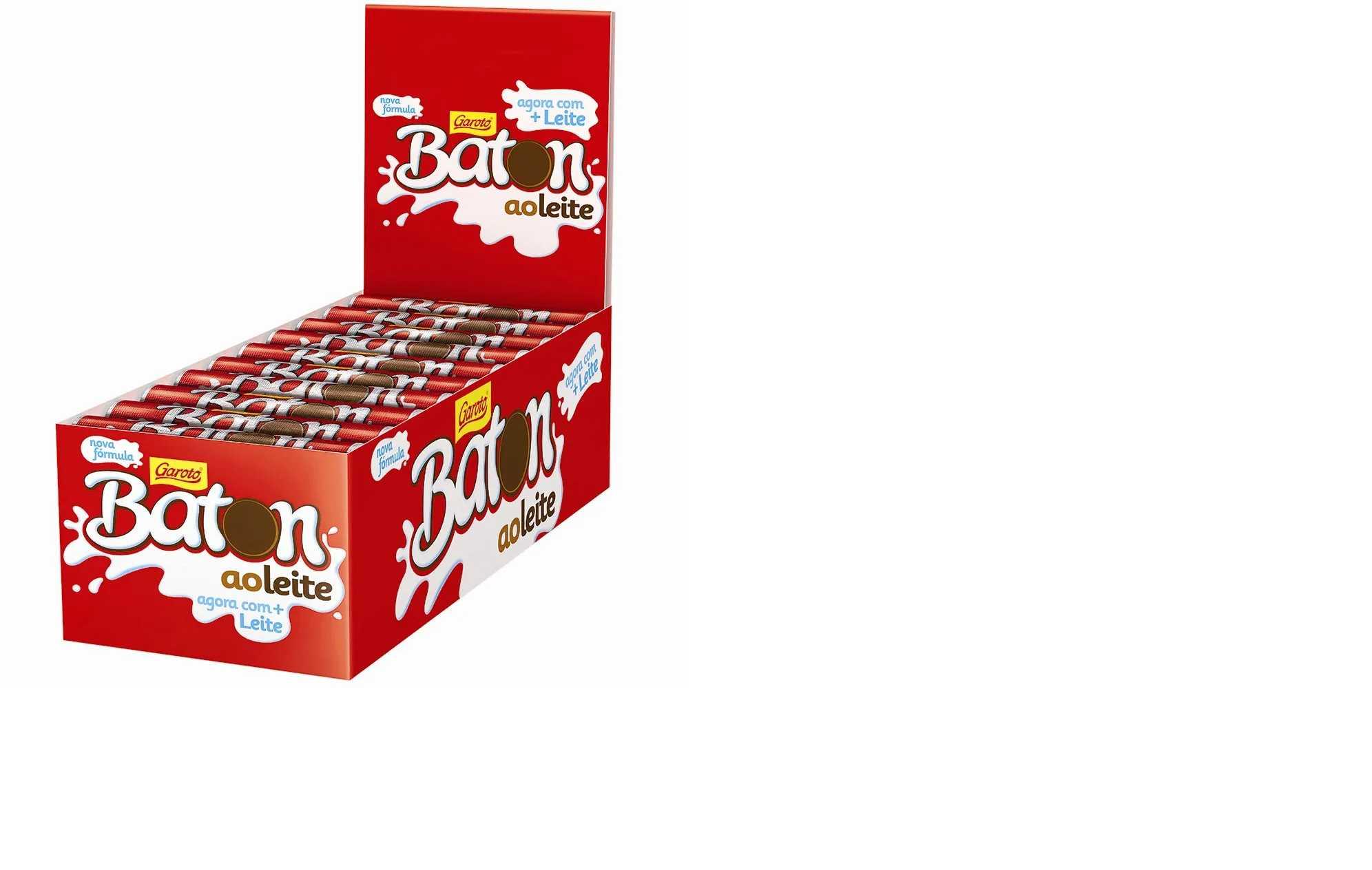 Chocolate Baton ao Leite Garoto Caixa 30x16g