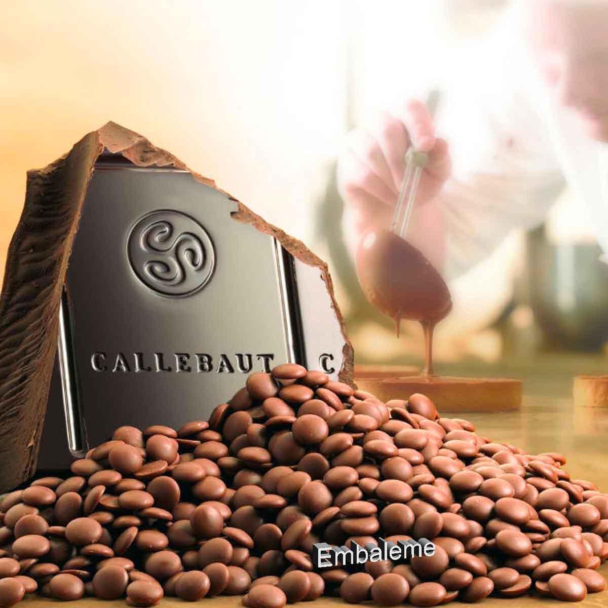 Chocolate Callebaut Amargo Kumabo 80,1% 2.5kg BARRY CALLEBAUT