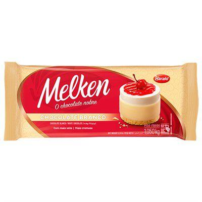 Chocolate Branco Melken 1,05kg Harald