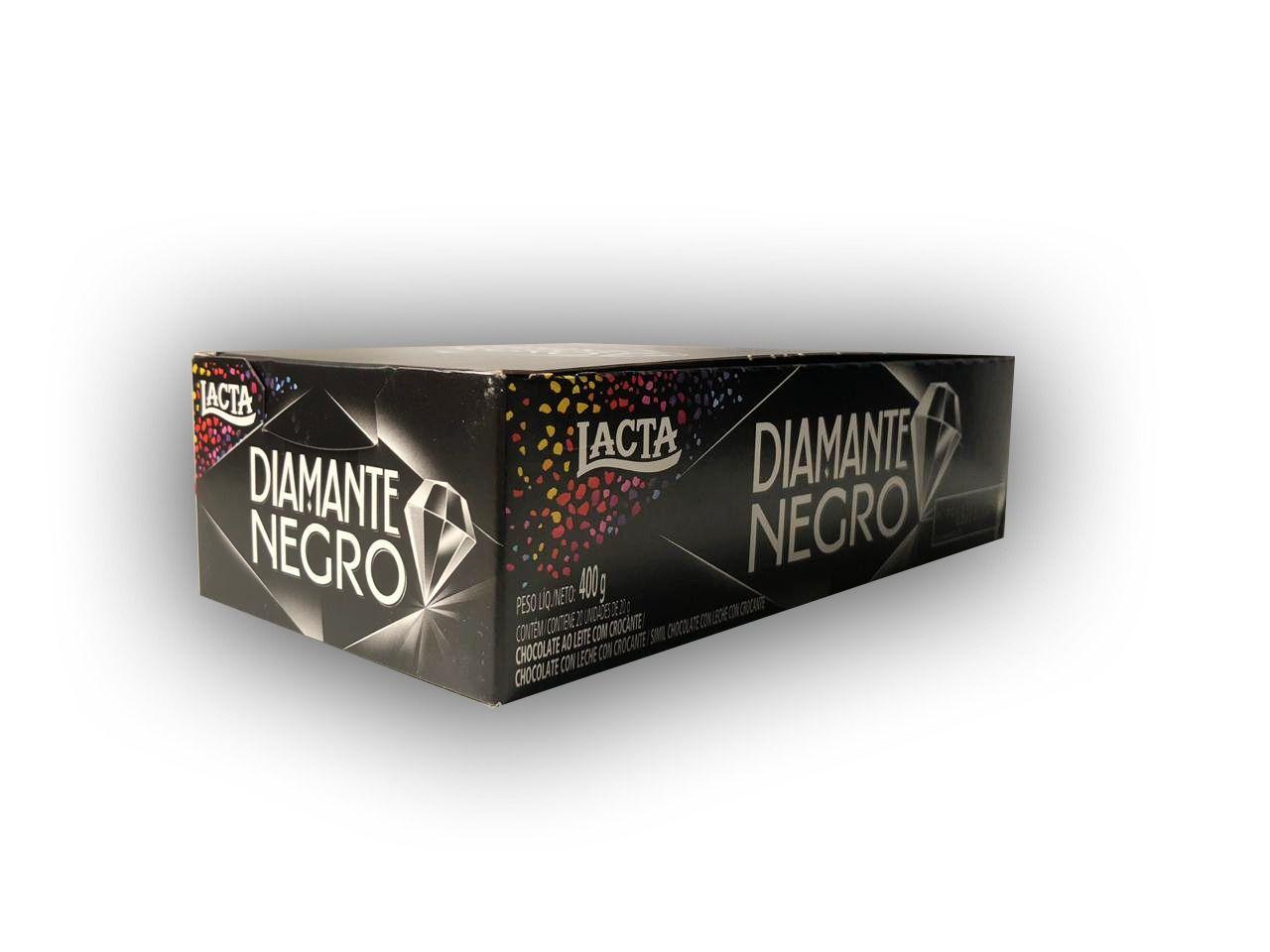 Chocolate Diamante Negro Lacta Caixa 20x20g