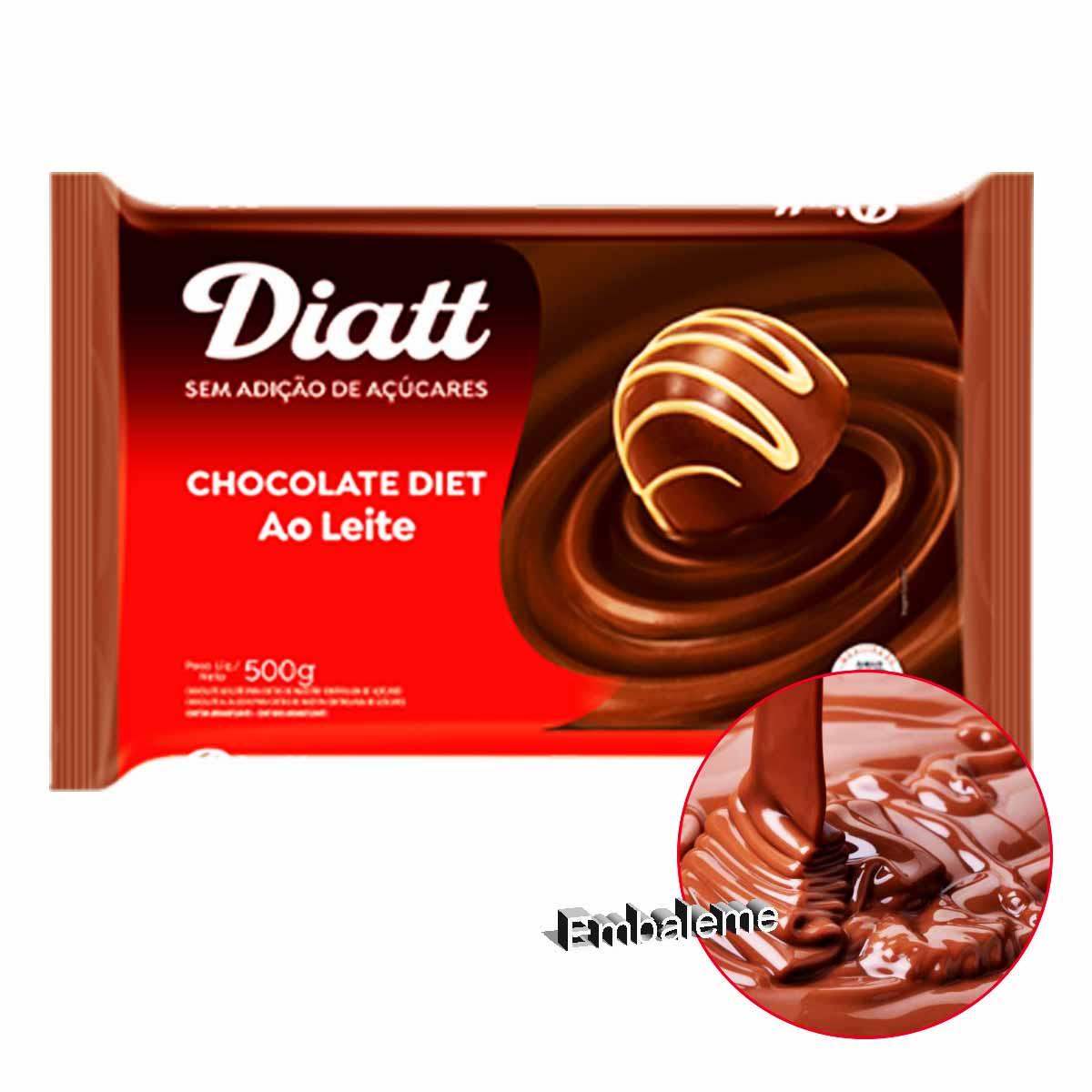 Chocolate Diet Barra 500g DIATT