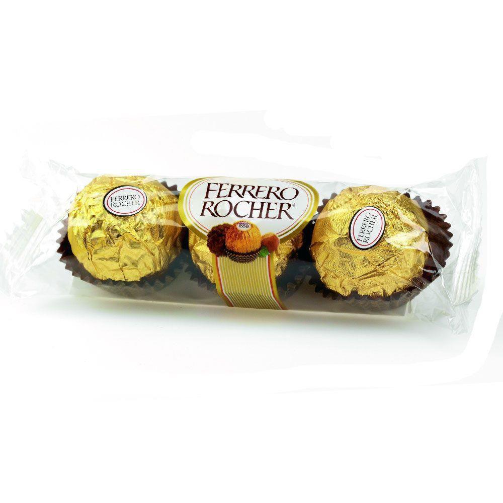 Chocolate Ferrero Rocher c/3