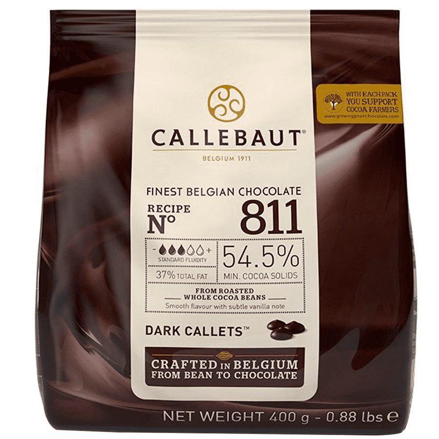 Chocolate Gotas Amargo 54.5% de cacau 811 400g Callebaut