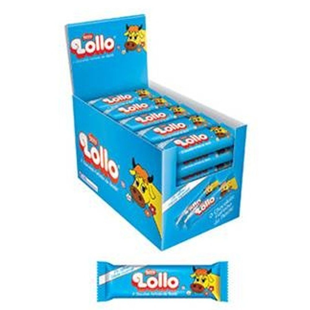 Chocolate Lollo Nestle Caixa 30x28g