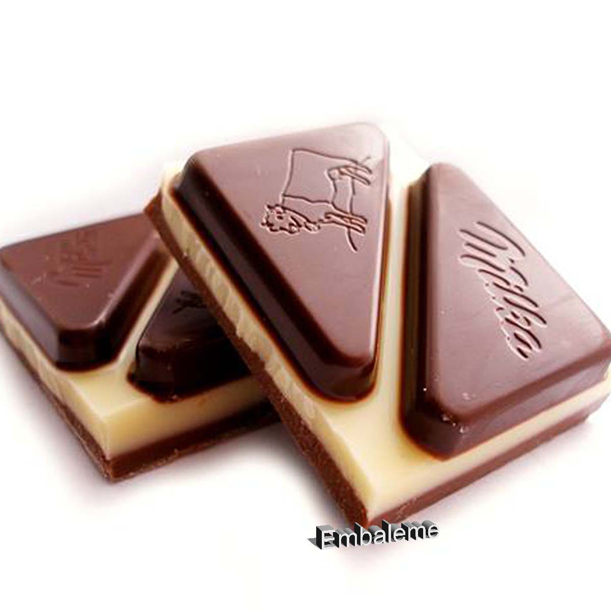 Chocolate Milka Triolade 280G Importado da Polônia