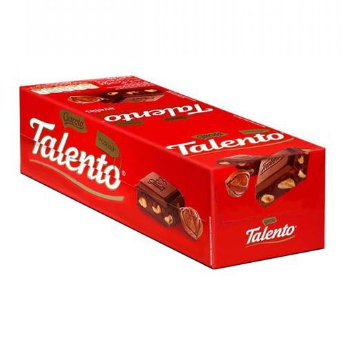 Chocolate Mini Talento Vermelho Avelãs 15X25g - Garoto