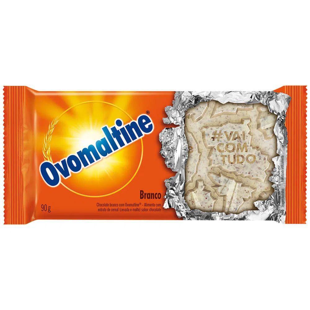 Chocolate Ovomaltine Branco com Ovomaltine 90g