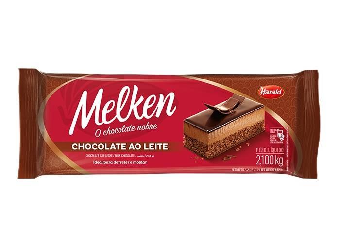 Chocolate Ao Leite 2,1KG Melken  Harald