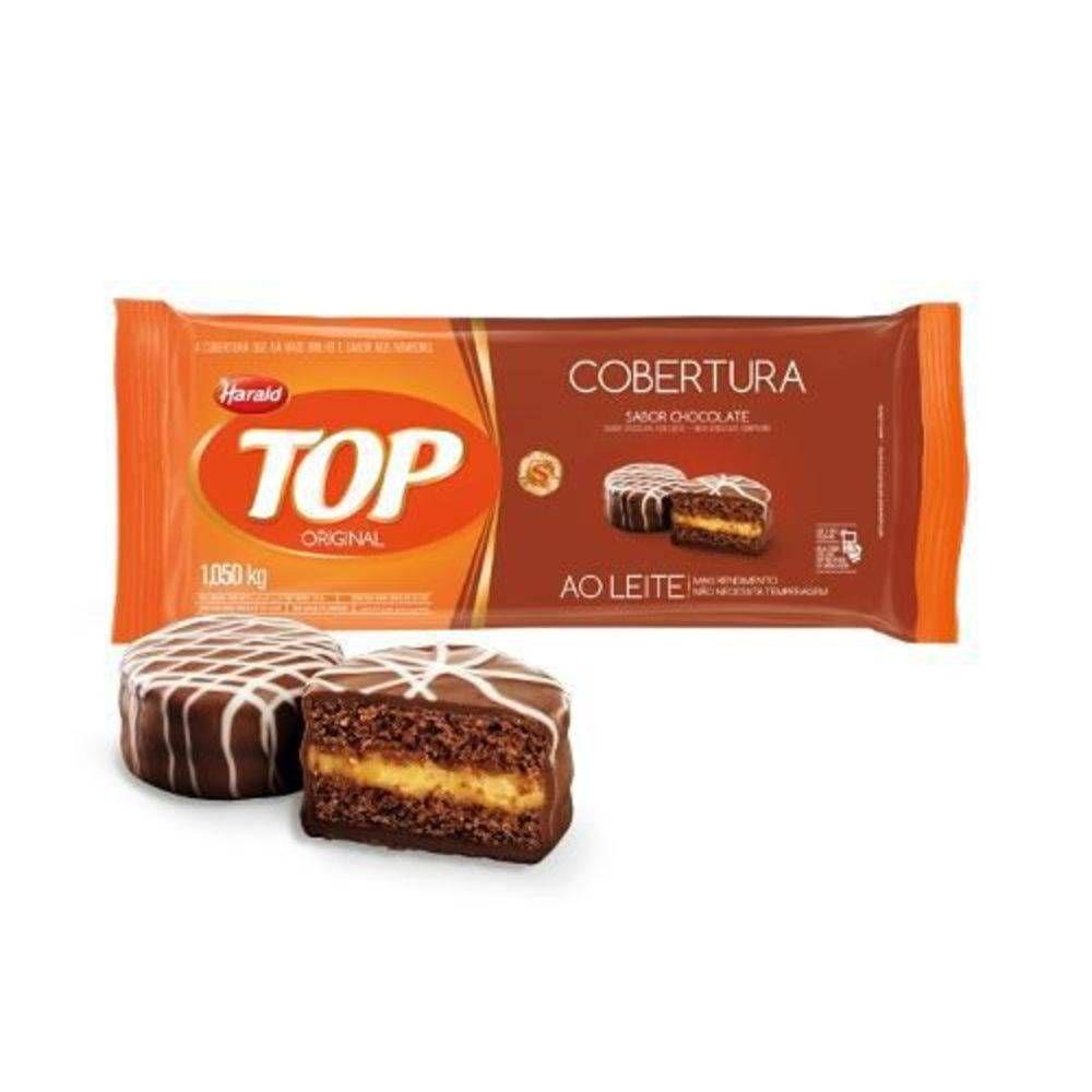 Cobertura Fracionada sabor Chocolate Ao Leite 1,05 kg Top  Harald