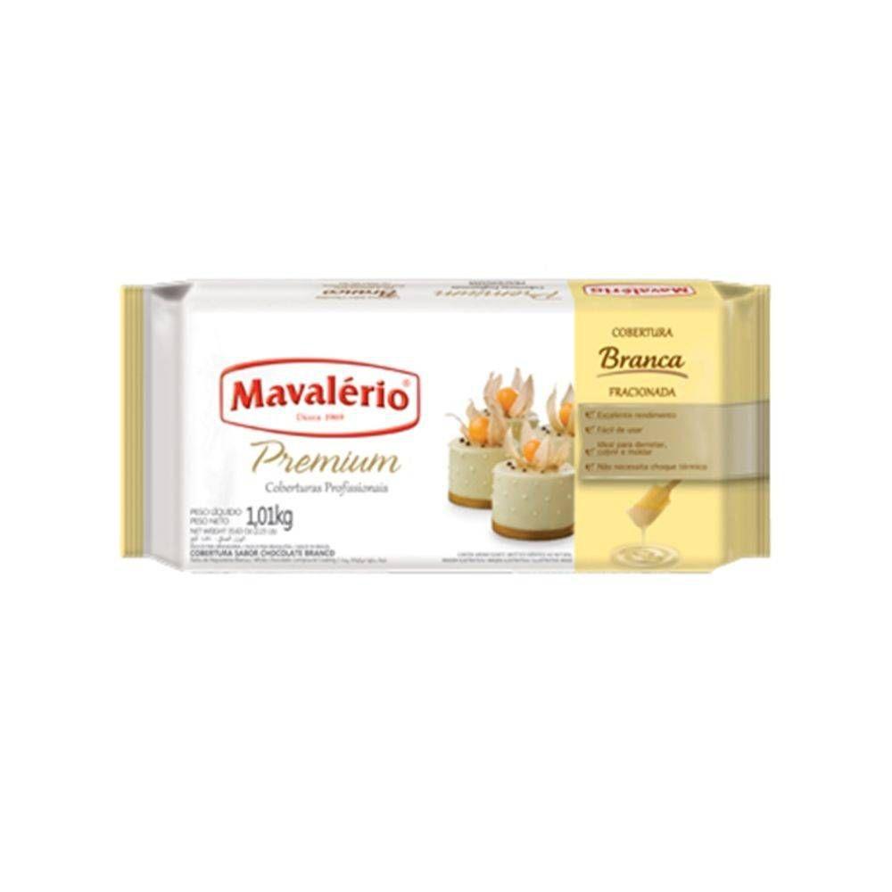 Cobertura Chocolate Branco Premium 1,01 kg Mavalério